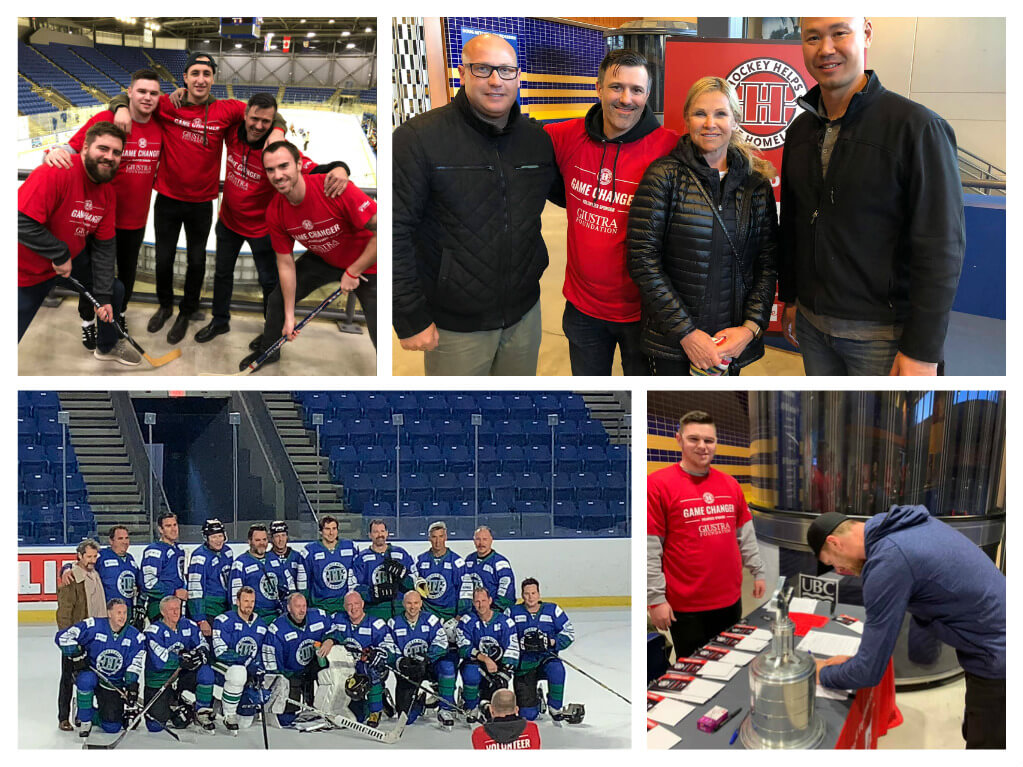 Hockey Helps the homeless Addiction Treatment Last Door
