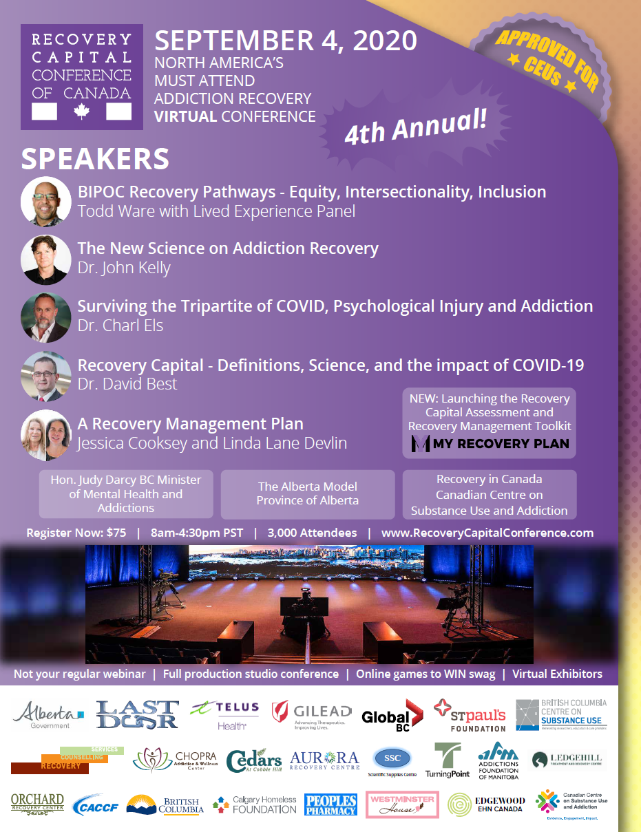 Recovery Capital Conference and Recovery Month Canada