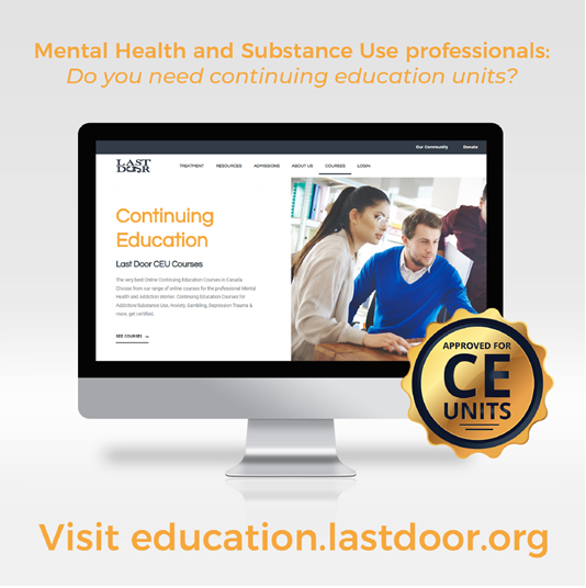 online courses for addiction and mental health professionals