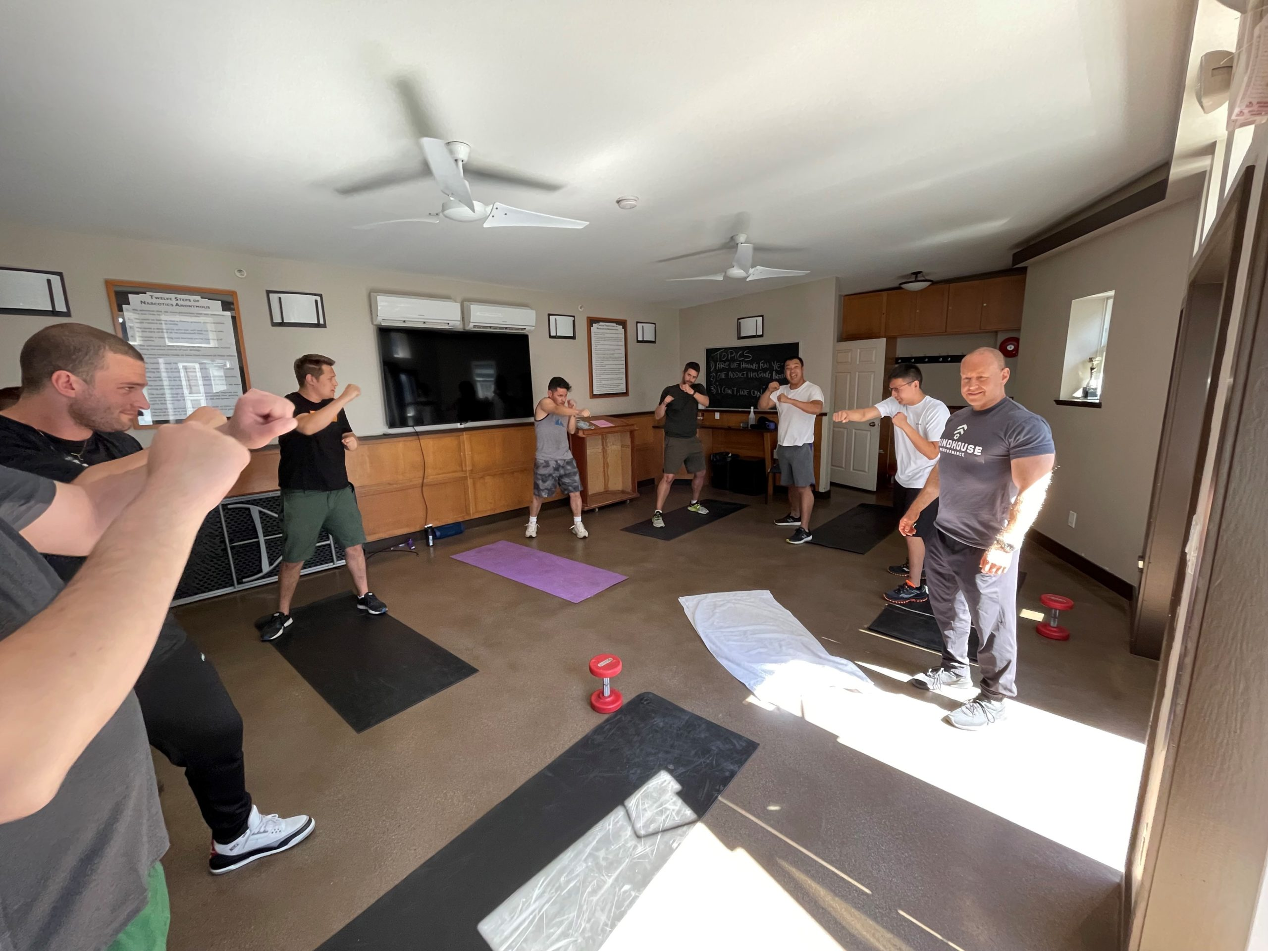 fitness and addiction treatment