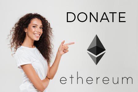 Donate Ethereum